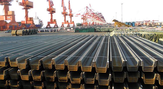 钢板桩出口新加坡